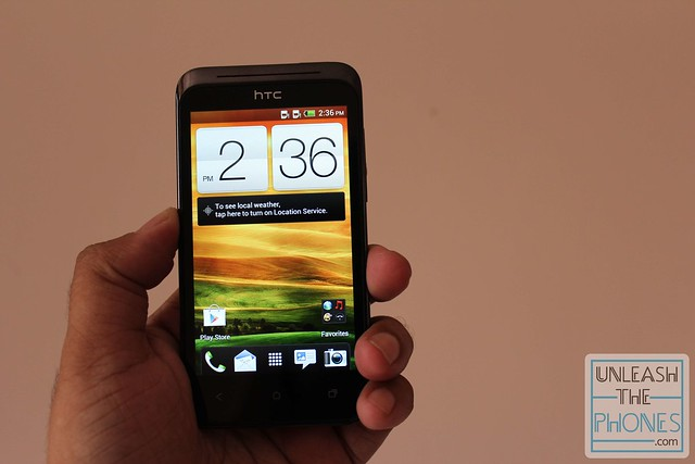 We've gone over this in detail in our HTC One X review , but we'll ...