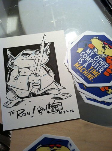 Sticker sketches: Yoda Bob