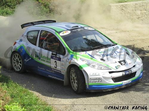 Perez-Velasco 207 S2000 42 Rallye de Ferrol