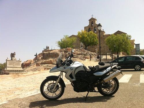 BMW F650GS en Andújar
