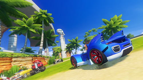 Sonic & All-Stars Racing Transformed - Wii U Gamescom Screens