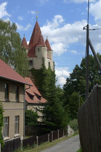 Monumentaal kerkje Oberoppurg