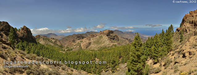 Valles de Tejeda (Gran Canaria, España)