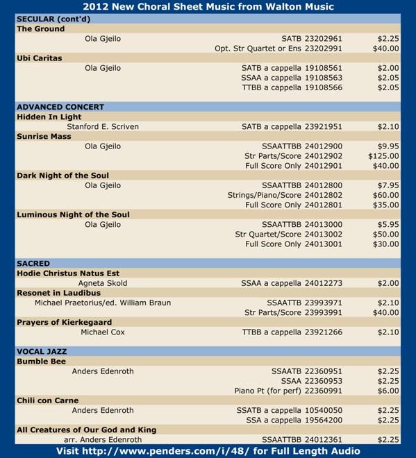 Walton 2012 Choral Sheet Music Promo Pg 3