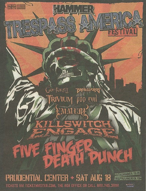 08/18/12 Trespass America Festival 2012 @ Prudential Center, Newark, NJ