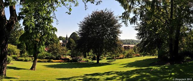 Panorama sur le parc