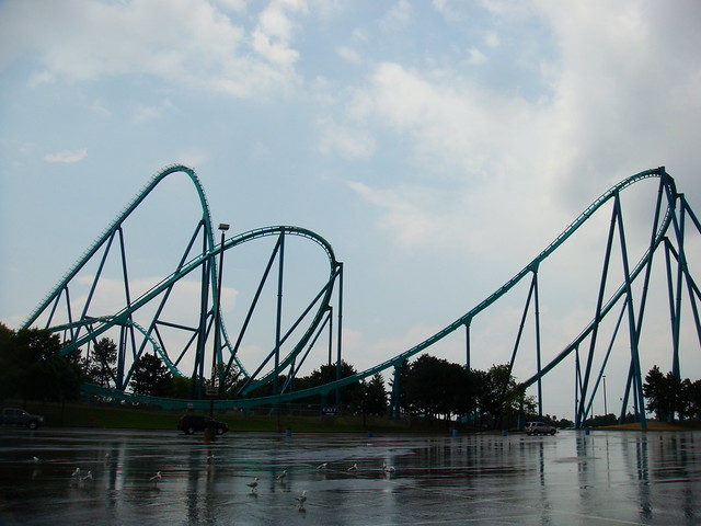Leviathan roller coaster at Canada's Wonderland | Flickr ...
