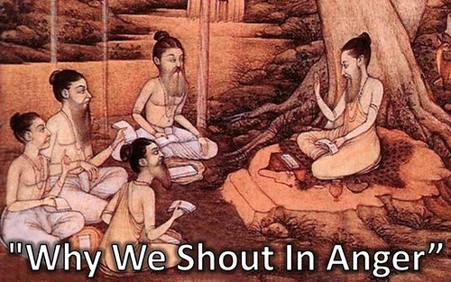 Why We Shout In Anger (Why do people shout in anger shout at each other?)