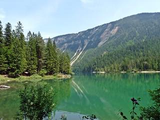 Mountain reflections: Lago di Tovel