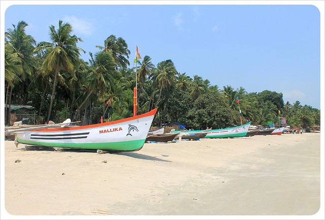 palolem India boats