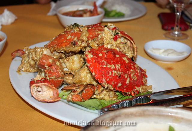 salty egg crabs