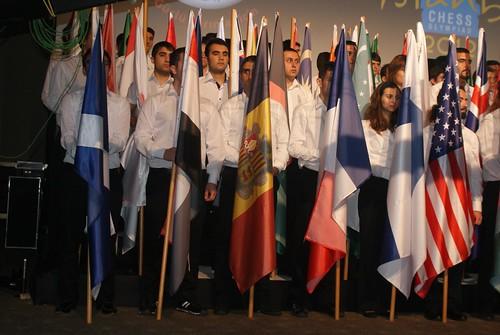 Inauguració de les Olimpíades