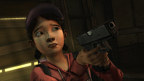 The Walking Dead Episode 3 - gun