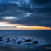 Some extremely interesting light after stormy night in Antibes by toncheetah