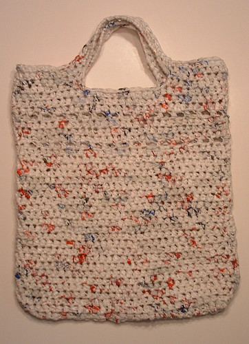 Double Picket Stitch Plarn Tote