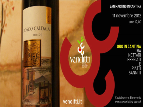 Oro in Cantina 2012 Venditti Tour