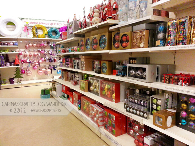 Christmas decs in Home Sense