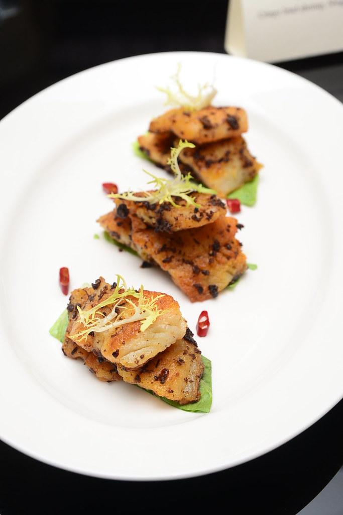 台北君悅正宗寧波料理 - 豆豉小黄魚