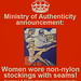 MOA Poster: Stockings by Ministry of Authenticity