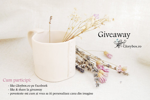 Giveaway Glorybox.ro