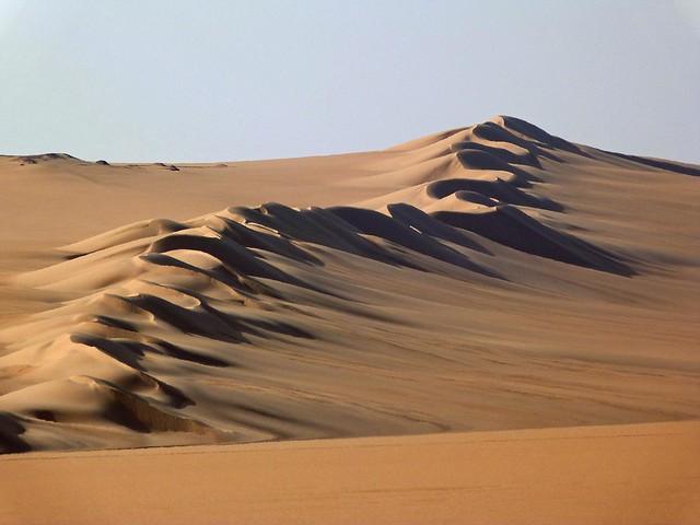 Gran Mar de Arena (Desierto Líbico, Egipto)