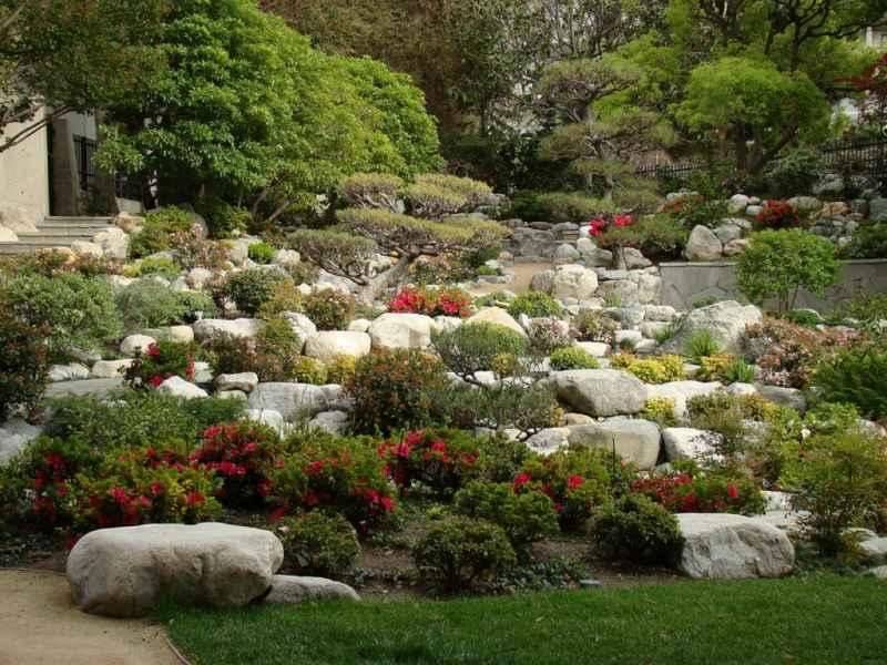 Jardineros en acci n soluciones de dise o para jardines for Figuras para jardin zen