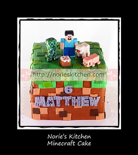Norie's Kitchen - Minecraft Cake