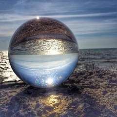 #canada #ontario #toronto #scarborough #portunionwaterfront #rougehill #portunion #lakeontario #crystalball #glassball #crystalballworld #hdr #hdr_pics #tv_hdr #tgif_hdr #hdrspotters #oh_canada_ #loves_canada #iphone5s #iphonography
