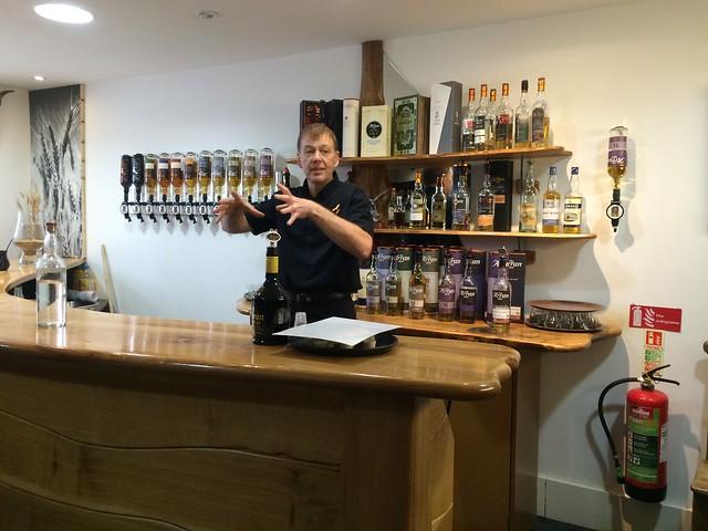 Isle of Arran Distillers - sampling bar