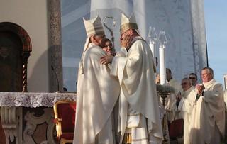 Lo 'schiaffo' del vescovo uscente, mons. Domenico Padovano