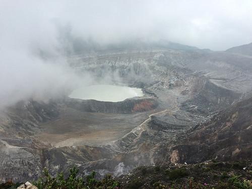 Volcan Poas: magique !