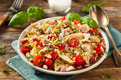 Homemade Chicken Orzo Salad