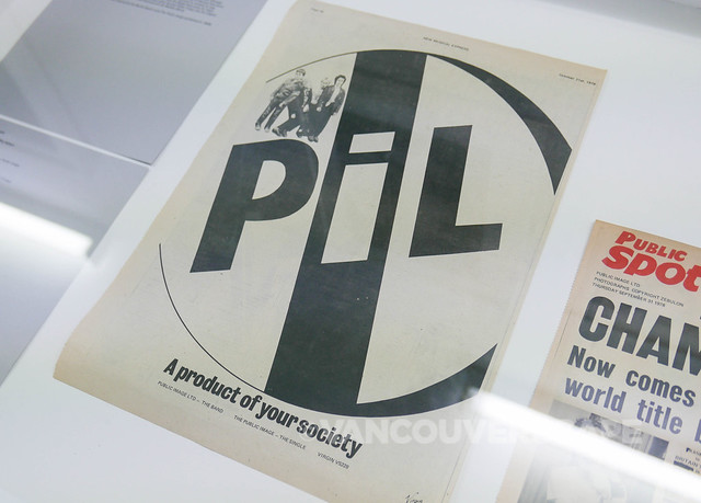 London/PiL Metal Box exhibit