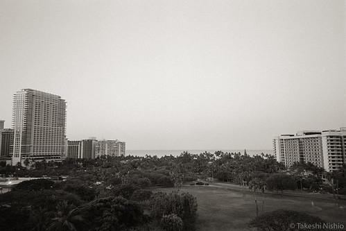 view from lanai, 6:30