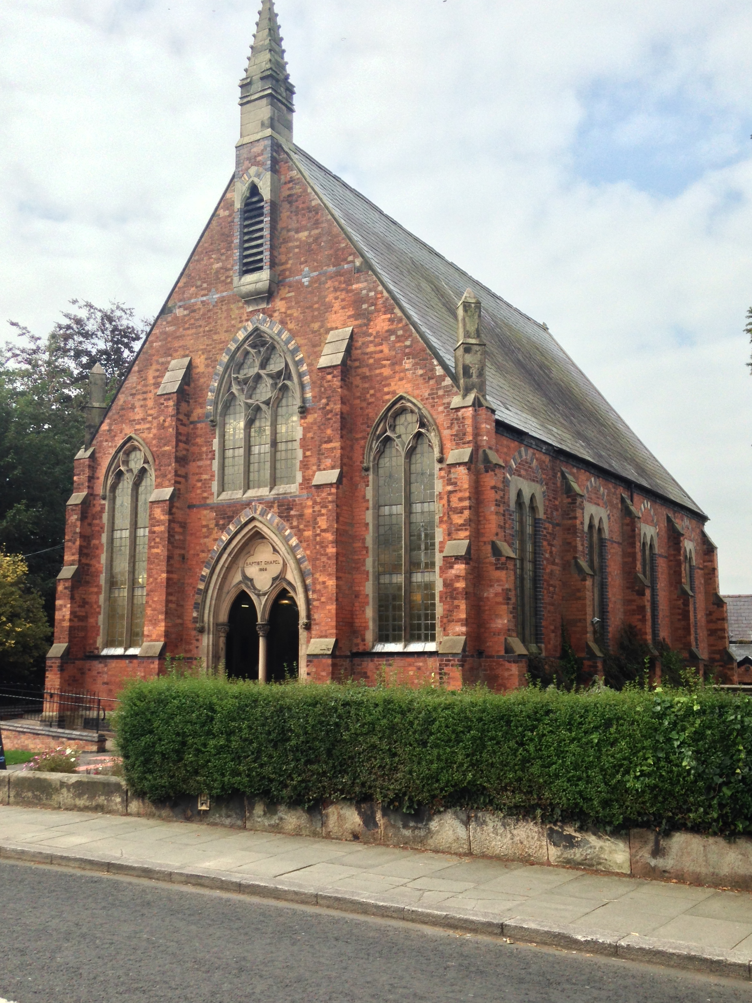 TARPORLEY, Baptist Methodist church, Cheshire