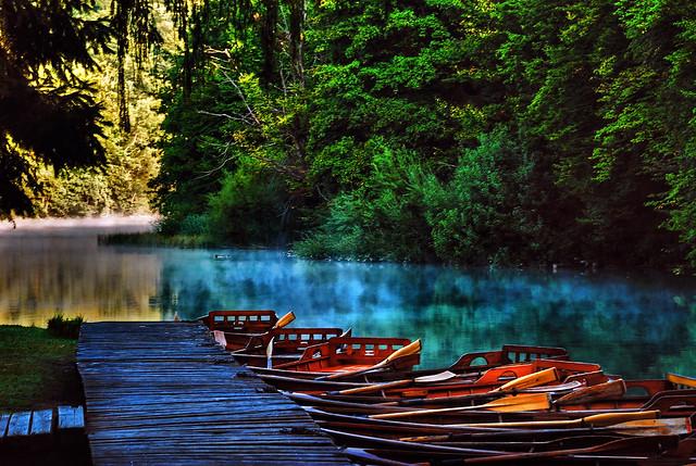 Croatia - Plitvice - Hvratska - Plitvice Lakes National Park - HDR