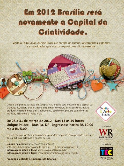 Feira Scrap & Arte Brasília 2012