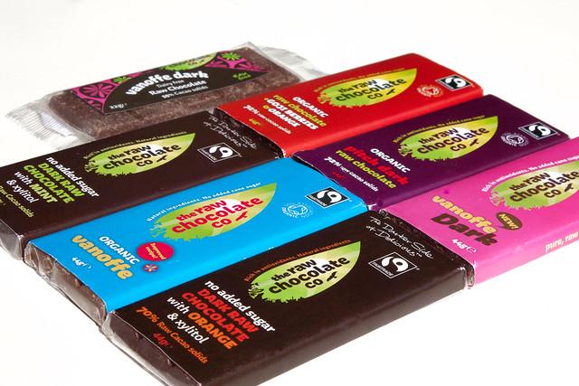 The Raw Chocolate Company Chocolate Bars