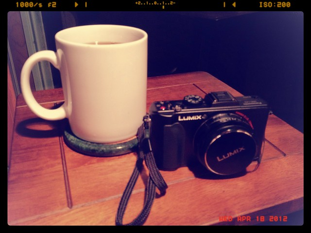 New Camera and Coffee