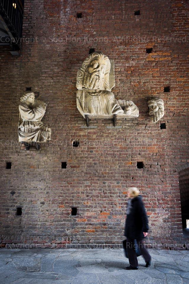 Castello Sforzesco @ Milan, Italy