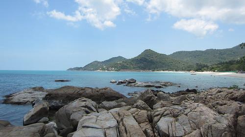 Koh Samui Chaweng Beach →Chaweng Noi Beach サムイ島チャウエンビーチからチャウエンノイビーチへ岩越え (12)