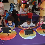 KLRU 50th Birthday Party 2012 117 PBS Kids Island activity station