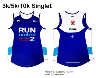 3-5-10km Singlet
