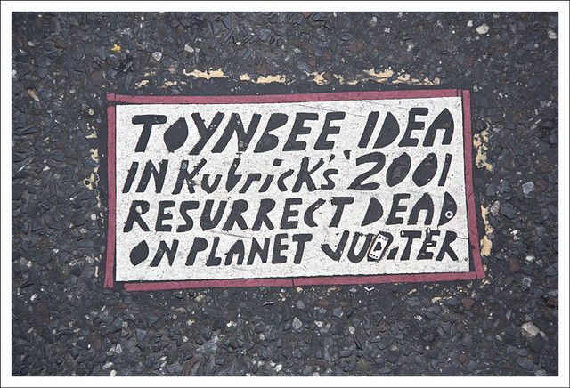 Toynbee Tile 9th and Market