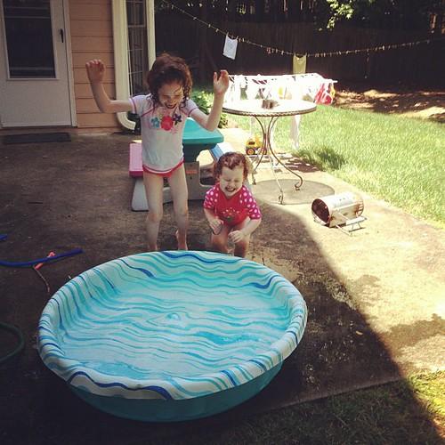 Baby pool still satisfies.
