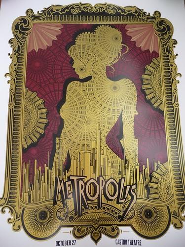 Alien Corset Metropolis Castro Theatre Poster