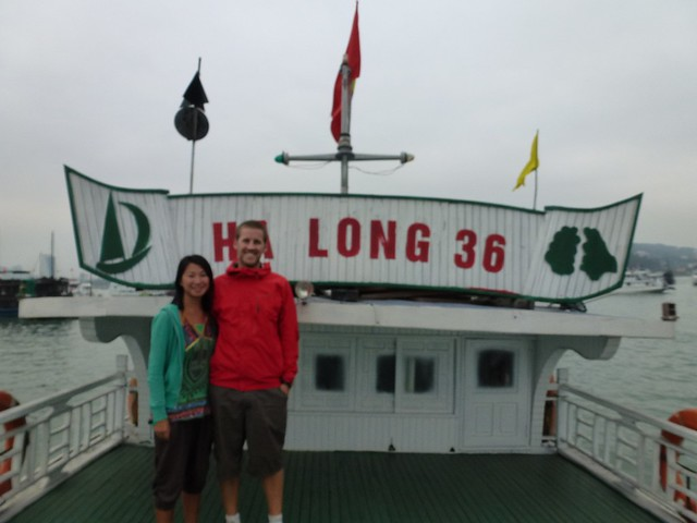 On Ha Long Boat 36 at Ha Long Bay
