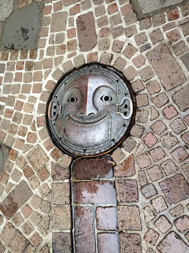Drain cover at Studio Ghibli