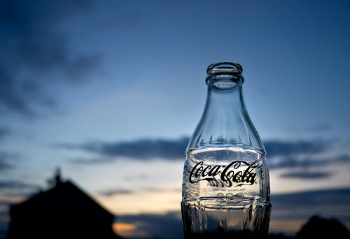 Coca Cola Sunset April 2012 by dunard54
