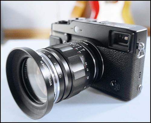 Fuji X-Pro 1 Voigtlander 35mm f/1.2 Heliar Kipon LM > FX adapter